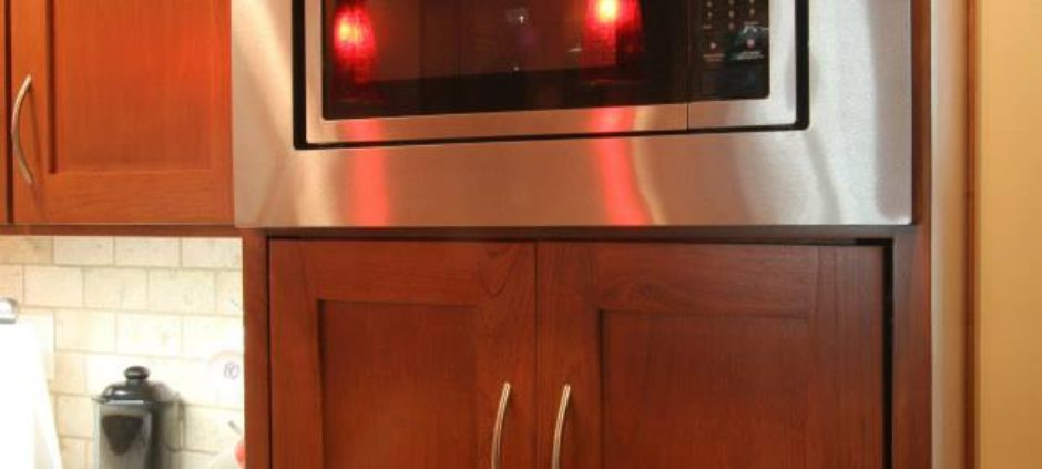 Cherry Mission Style with Granite Counters
