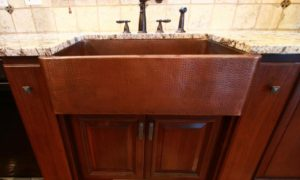 Walnut Raised Panel with Custom Butcher Block Table