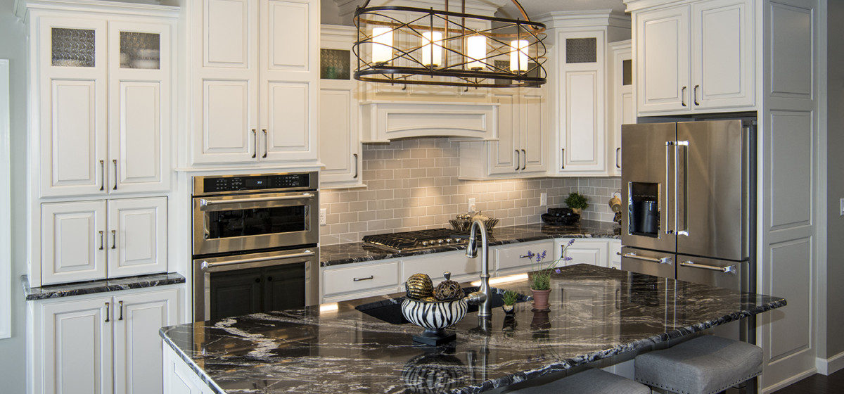 Custom design in kitchen